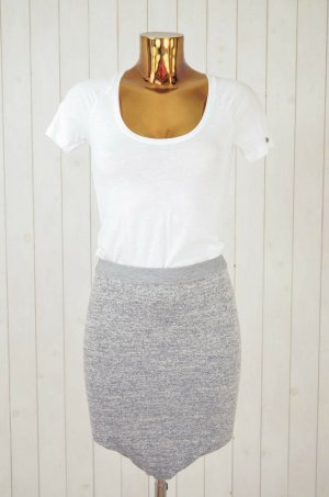Alexander Wang Stretch Skirt grey-light grey nylon