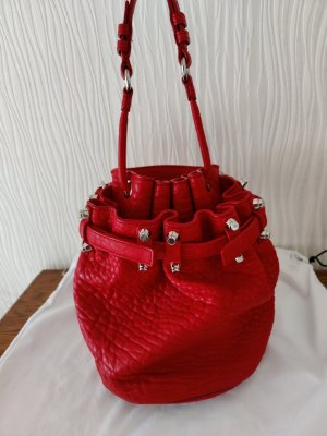 Alexander Wang Pouch Bag red leather