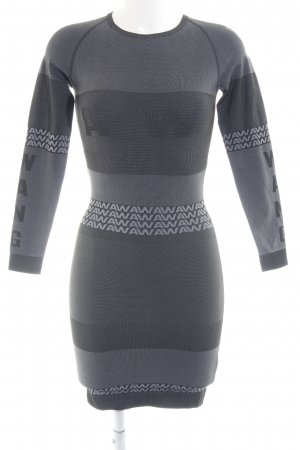 Alexander Wang for H&M Longsleeve Dress printed lettering athletic style