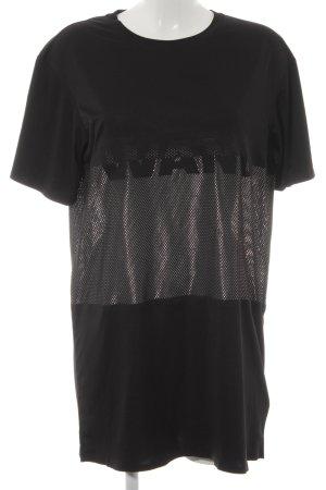 Alexander Wang for H&M T-Shirt black-white neoprene look