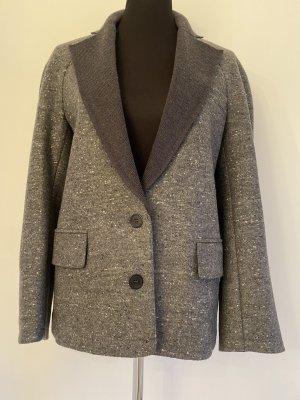 Alexander Wang Veste en laine gris foncé-gris laine