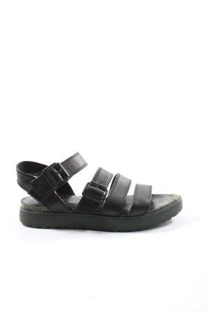 Alexander Wang Sandalias cómodas negro look casual