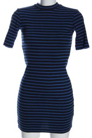 Alexander Wang Sukienka z krótkim rękawem niebieski-czarny W stylu casual