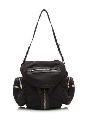 Alexander Wang Lambskin Trimmed Nylon Marti Backpack