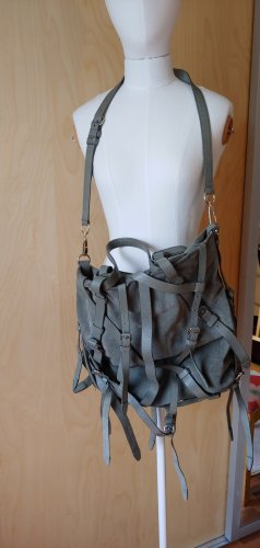 Alexander Wang Sac bandoulière gris-gris foncé