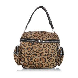 Alexander Wang Leopard Print Leather Shoulder Bag