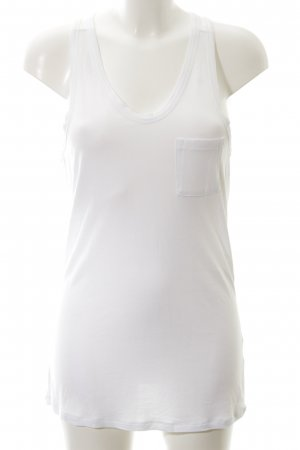 Alexander Wang Top long blanc style simple