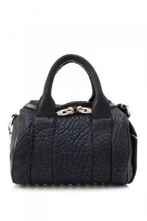 Alexander Wang Mini Rockie Lambskin Leather Boston Bag
