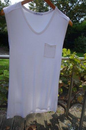 ALEXANDER WANG Oversize X Small Weiß Ärmellos Tanktop Shirt Oberteil