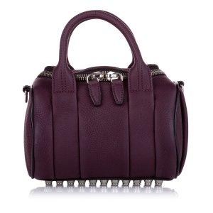 Alexander Wang Sacoche violet cuir