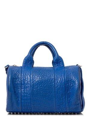 Alexander Wang Rockie Lambskin Leather Boston Bag