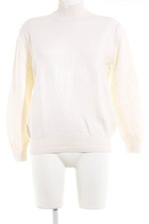 Alexander Wang Turtleneck Sweater natural white wool
