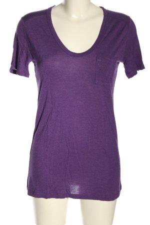 Alexander Wang T-shirt lilla puntinato stile casual