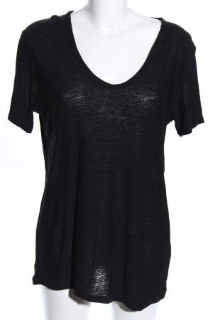 Alexander Wang T-Shirt schwarz Casual-Look