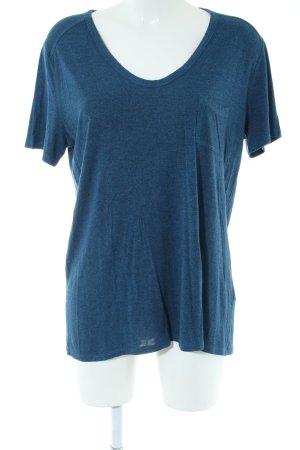 Alexander Wang T-Shirt blue flecked casual look