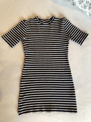 Alexander Wang T-shirt jurk wit-zwart
