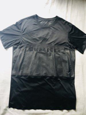 Alexander Wang for H&M Camisa negro-gris claro Poliéster