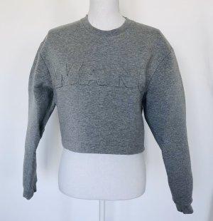 Alexander WANG x H&M Sweatshirt Gr. S Grau