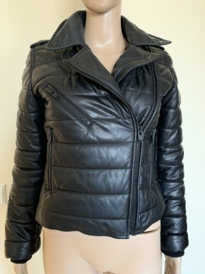 Alexander Wang for H&M Leather Jacket black leather