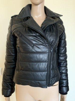 Alexander Wang for H&M Veste en cuir noir cuir
