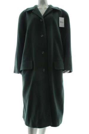 Alexander Wool Coat cadet blue classic style