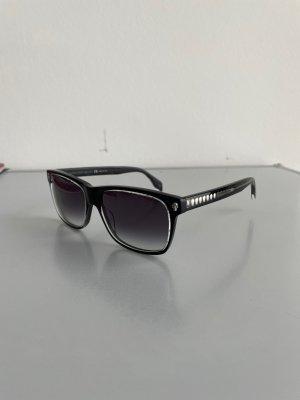 Alexander McQueen Angular Shaped Sunglasses multicolored