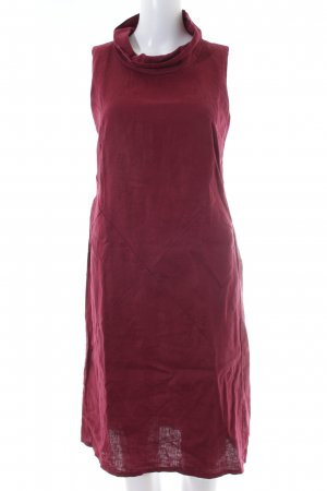 Alexandra Midi Dress bordeaux casual look