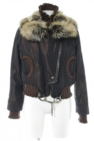 Alexandra Winter Jacket brown-bronze-colored casual look