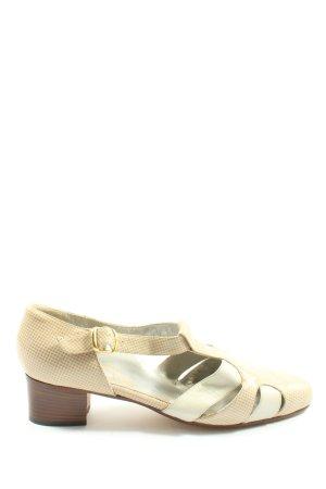 Alexandria Slip-on blanc cassé-crème imprimé allover style décontracté