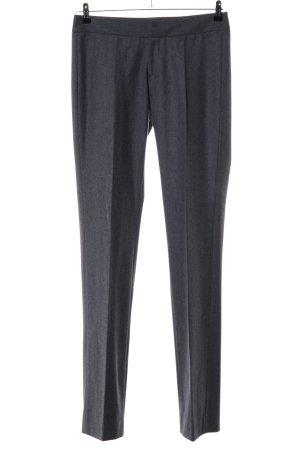 Alexis Mabille Wełniane spodnie jasnoszary Melanżowy W stylu casual