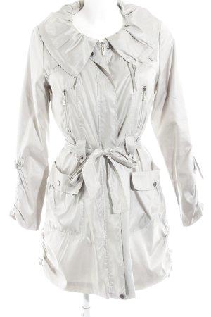 alexo Between-Seasons Jacket silver-colored casual look