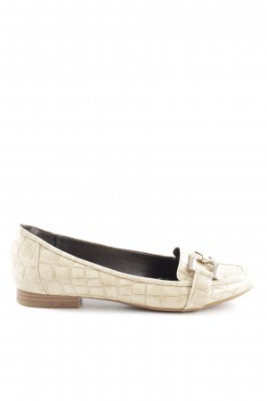 Alfani Lackballerinas creme Animalmuster Business-Look