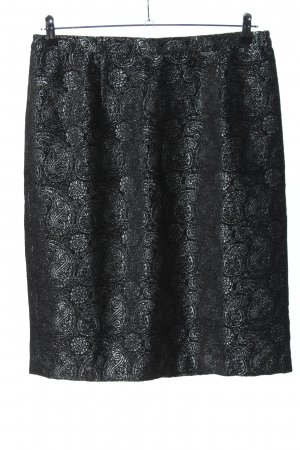 Alfredo Pauly Pencil Skirt black-light grey allover print casual look