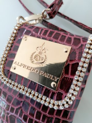 Alfredo Pauly Mini Bag bordeaux