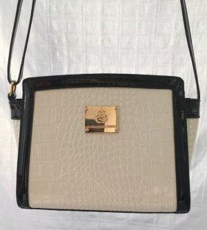 Alfredo Pauly Shoulder Bag white-black