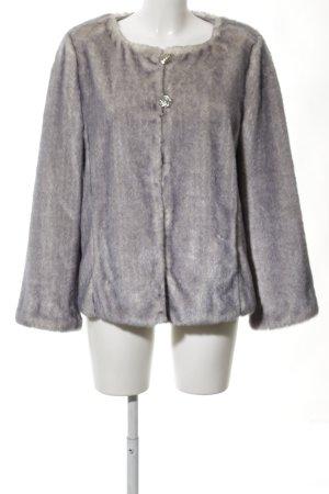 Alfredo Pauly Fur Jacket light grey business style