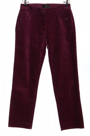 Alfredo Pauly Pantalone cinque tasche rosso stile casual