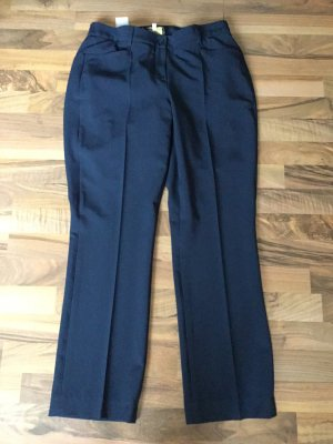 Alfredo Pauly Stretch Trousers dark blue
