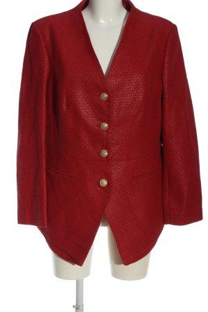 Alfredo Pauly Blazer corto rosso motivo a righe stile casual