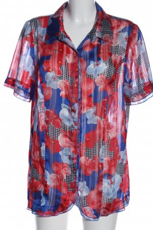 Alfredo Pauly Short Sleeve Shirt allover print casual look