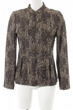 Alfredo Pauly Short Jacket light brown-black Sequin ornaments