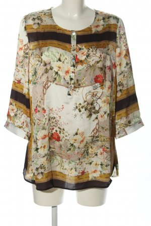 Alfredo Pauly Long Sleeve Blouse allover print casual look