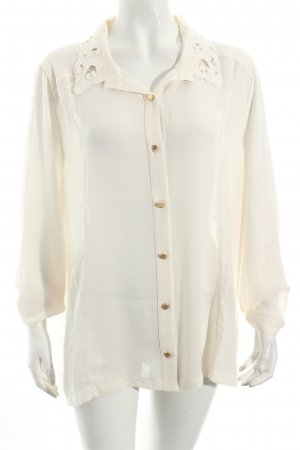 Alfredo Pauly Long Sleeve Blouse natural white casual look