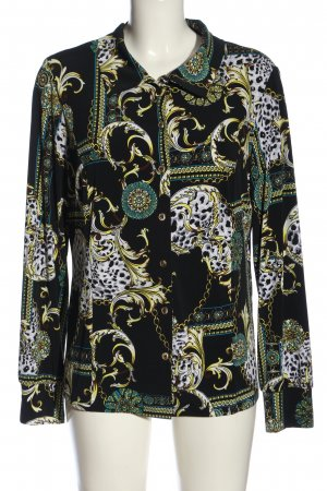 Alfredo Pauly Long Sleeve Shirt allover print elegant