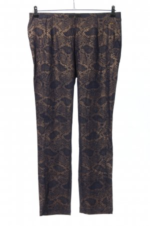 Alfredo Pauly Leggings lilac-brown animal pattern casual look