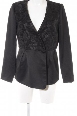 Alfredo Pauly Long Blazer black business style