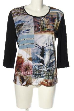 Alfredo Pauly Long Shirt themed print casual look