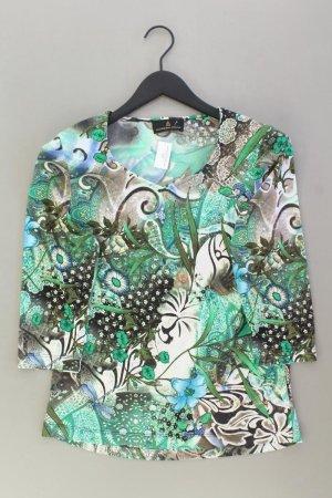Alfredo Pauly Printshirt Größe 38 mit Blumenmuster 3/4 Ärmel mehrfarbig aus Polyester
