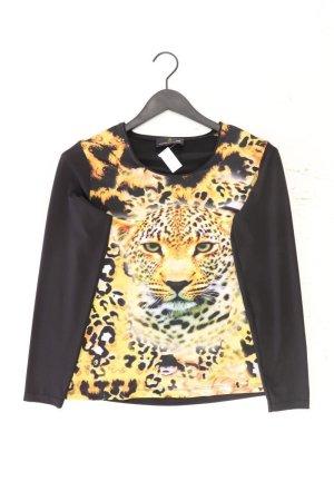 Alfredo Pauly Printshirt Größe 38 mit Tierdruck Langarm gelb aus Polyester