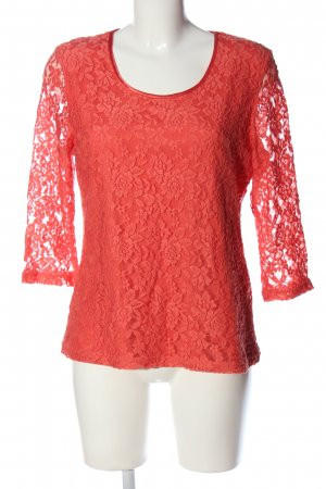Alfredo Pauly Slip-over Blouse red business style